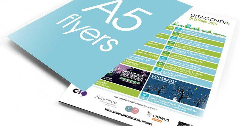 flyer en poster verspreiding in Leidsche Rijn en Vleuten-De Meern