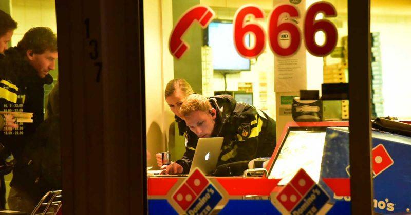 Overval Dominos Pizza in De Meern