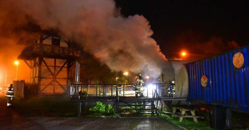 Gebouw van BSO verwoest door brand